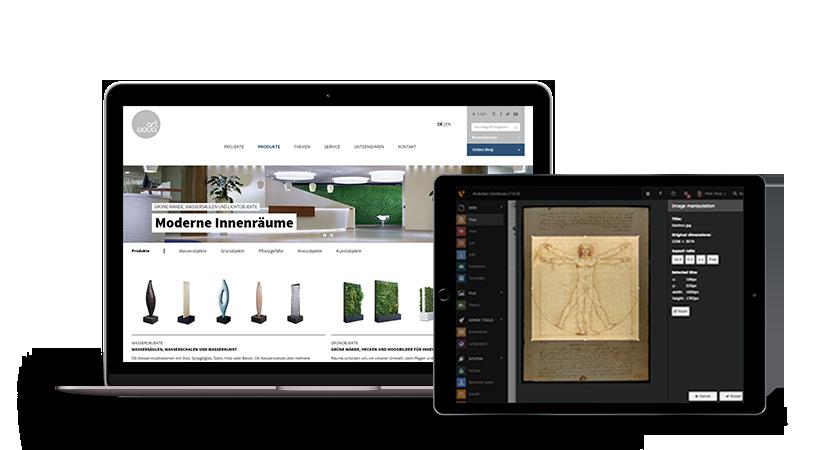 art-aqua-text-image-iPad-Macbook
