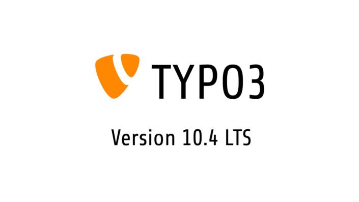 TYPO3 V10 LTS