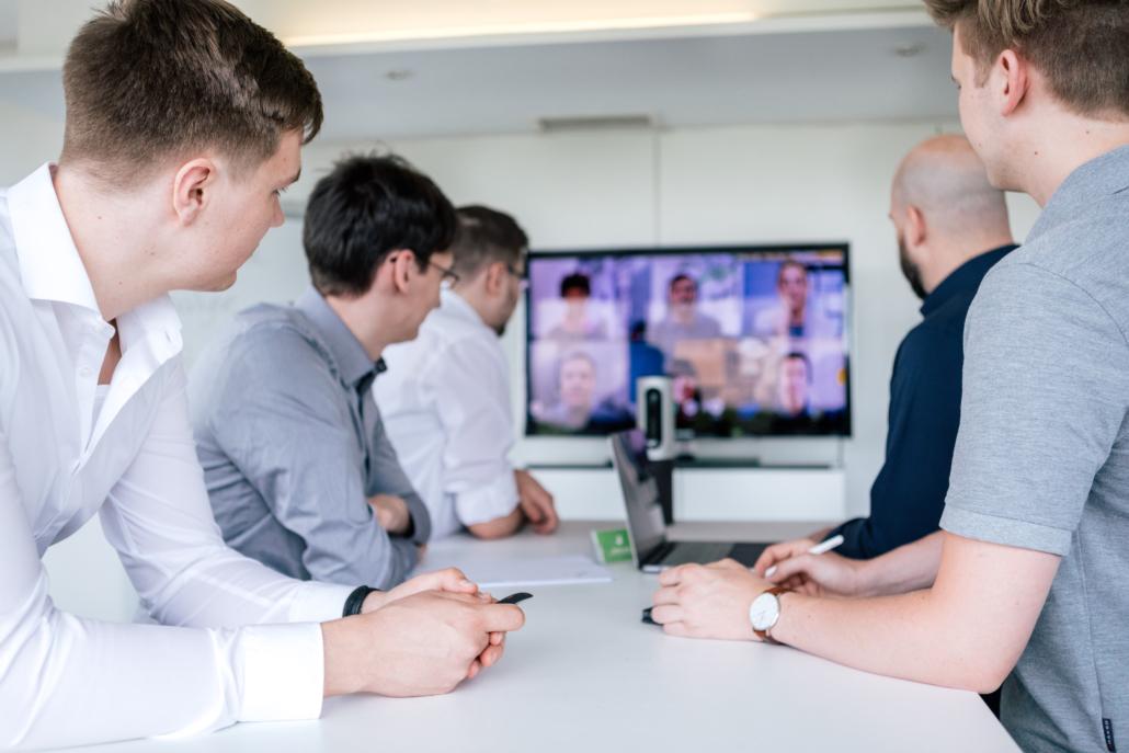 Team Meeting bei TYPO3Werk